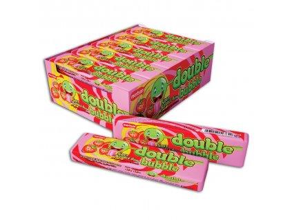 Double bubble gum 25g jahoda