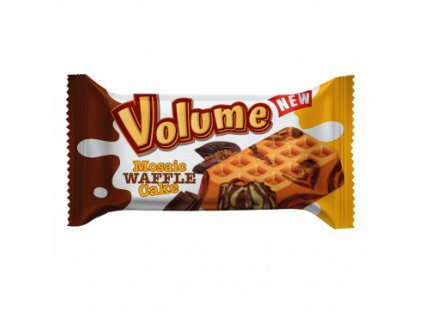 Volume waffle cake 45g čoko