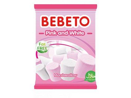Bebeto Marshmallow 60g Pink & White