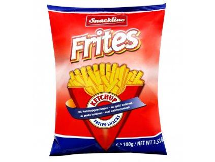 Frites s příchutí kučupu 100g