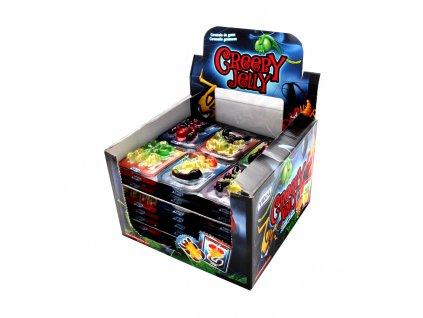 Creepy Jelly ovocné želé 66g (11x6 pieces à 11g)