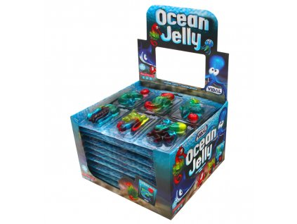Ocean Jelly ovocné želé 66g (11x6 pieces à 11g)