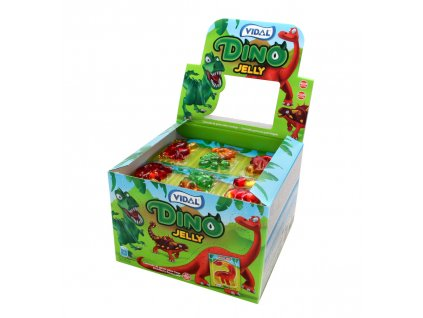 Dino Jelly ovocné želé 66g 11x6 pieces à 11g)