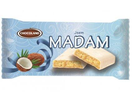 Madam s bílou čokoládou kokos 100g