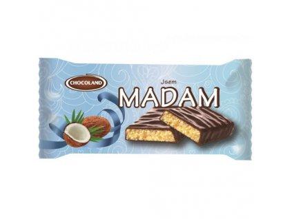 Madam s tmavou čokoládou kokos 100g