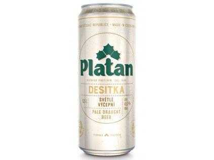Platan světlý výčepní 10° pivo