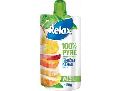 RELAX 100% Pyré Hruška banán 120g
