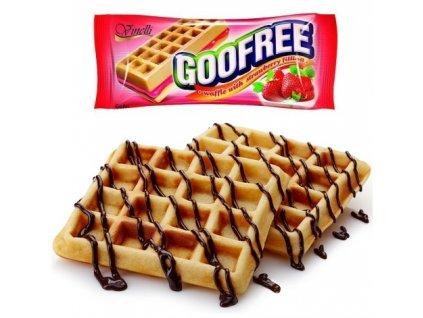 GooFree 50g jahoda vafle
