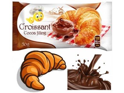 Genc Croissant Cocoa 50g Croissant s kakaovým krémem