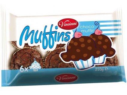 Vincinni Muffins 210g Choco