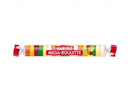 Haribo Mega roulette želé s ovocnými příchutěmi 45g