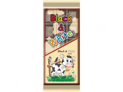 Black & White mléčná kakaové pochoutka 80g