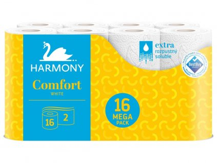 Harmony Toaletní papír 2 vrstvý 16ks