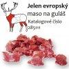 Jelen evropský maso na guláš cena za balení 5 kg