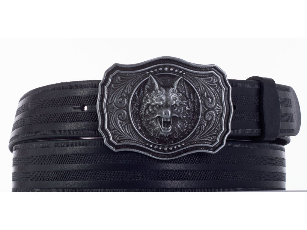 černý pásek vlk pr