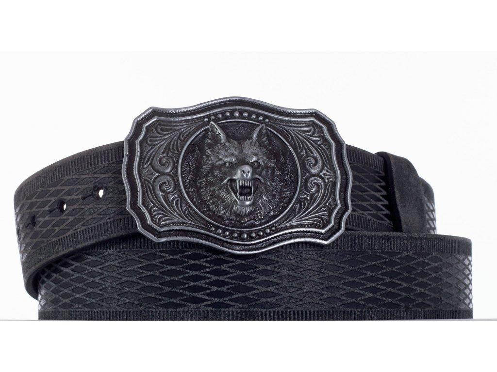 černý pásek vlk vrb