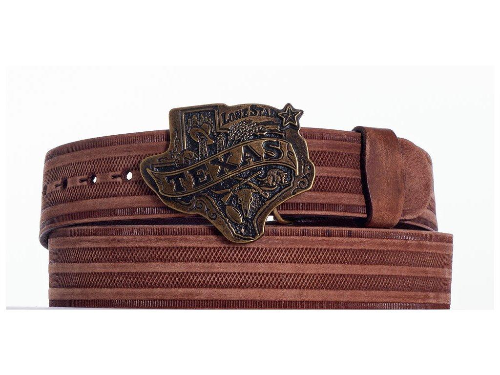 Hnědý opasek texas prbr