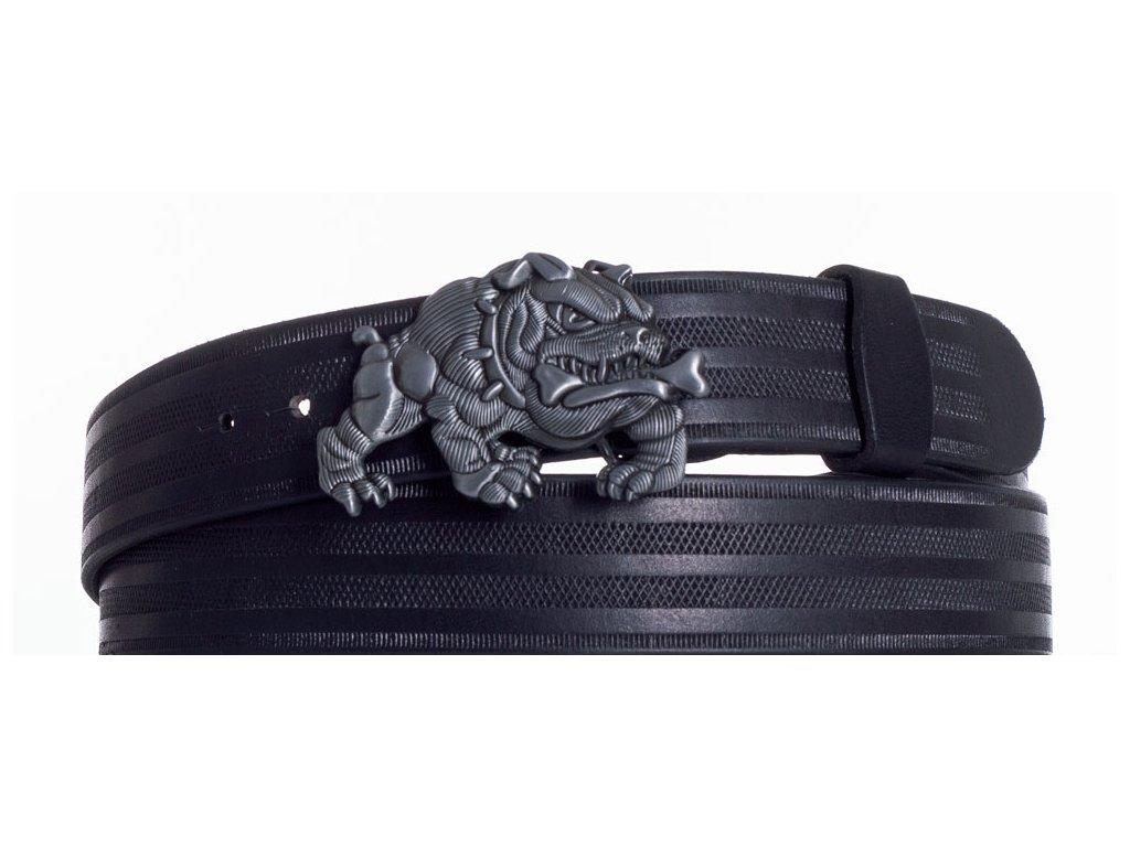 Kožený pásek buldog pr