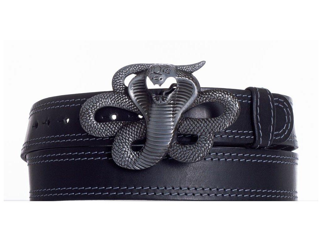 Kožený pásek kobra ob2š