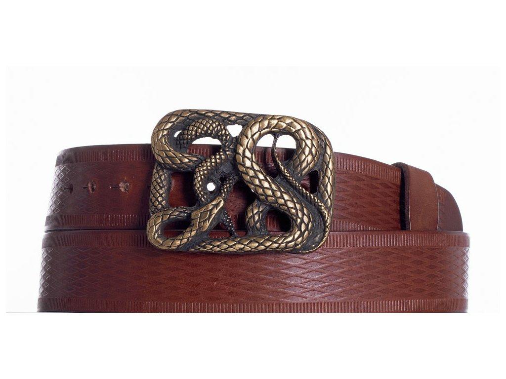 Hnědý pásek had vr