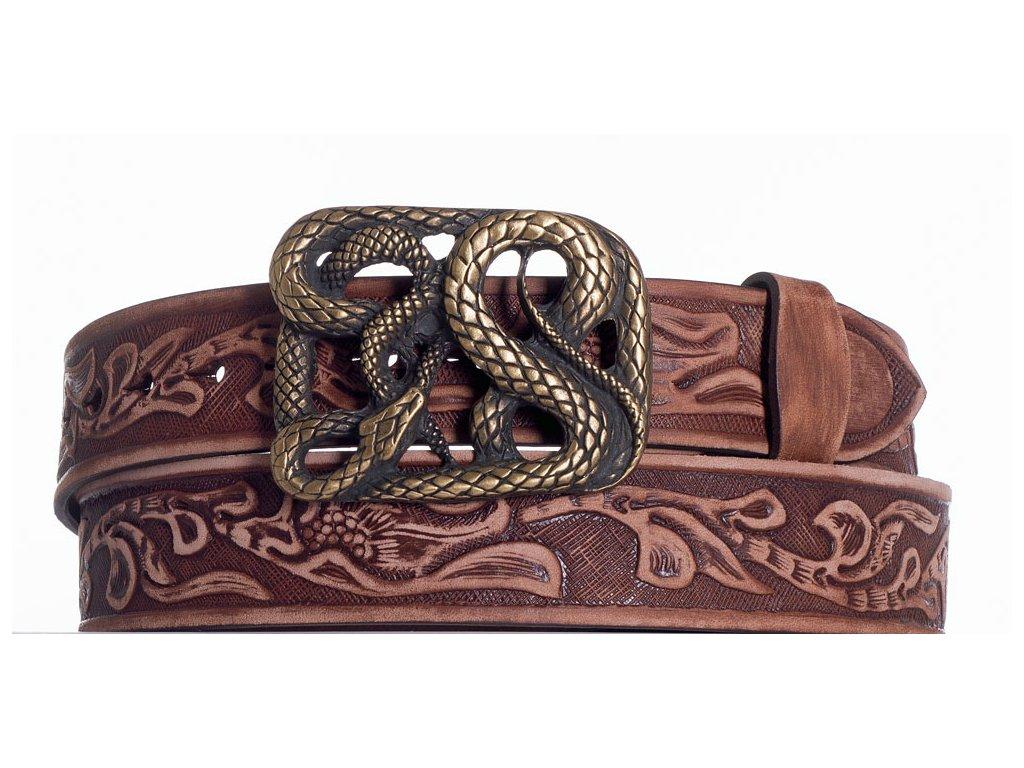 Hnědý pásek had vzb