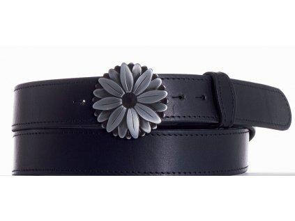 černý kožený opasek kopr