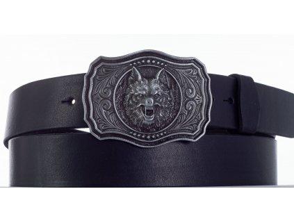 černý pásek vlk