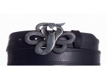 Kožený pásek kobra ob2č