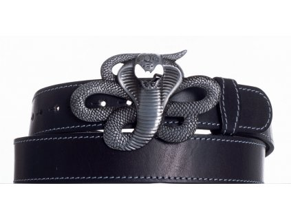 Kožený pásek Kobra obš