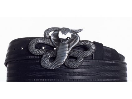 Kožený pásek kobra pr