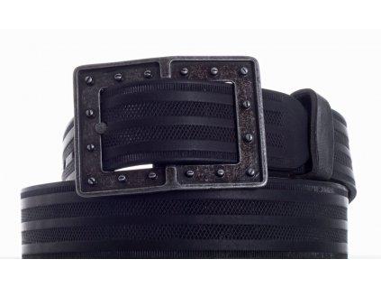 černý kožený pásek 73 pr