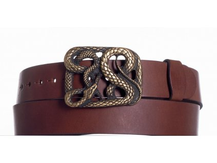 Hnědý pásek had