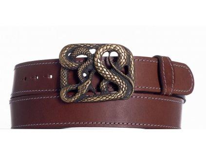 Hnědý pásek had ob