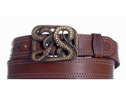 Hnědý pásek had ob2