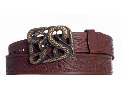 Hnědý pásek had vz