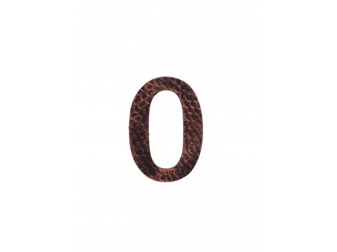 795 kovana cislica 0 med