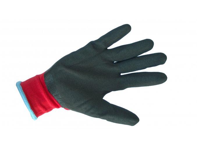 358 1 polyesterove rukavice latex