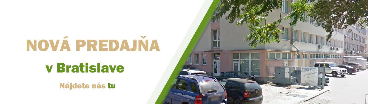Nová predajňa v Bratislave