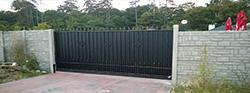 Budmerice - posuvná brána