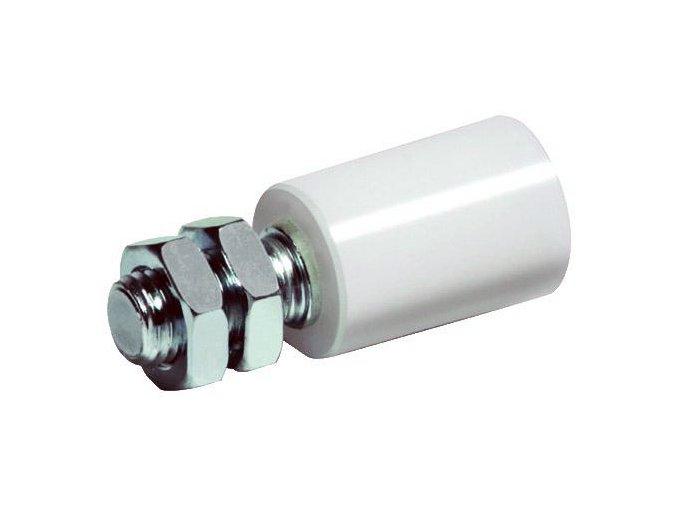 Koliesko nylónové D30 biele