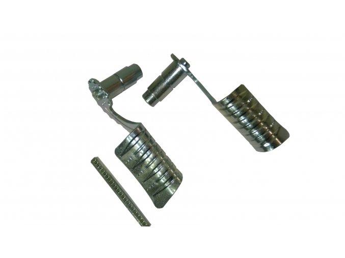 Kľučka kovaná - zahnutá zinkovaná