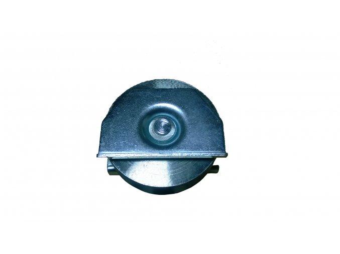 Koliesko pre posuvné brány, V profil, 80mm zápustné, naváracie
