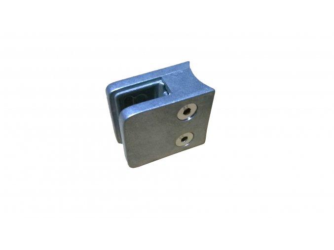 Držiak skla model 45. Zn, hranatý pre D42,4,  45x45