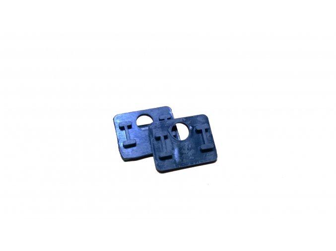 Gumové tesnenie k držiakom skla model 52pre sklo 8mm
