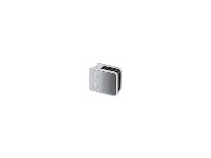 Držiak skla model 52. AISI 304, hranatý, 52x52 pre D42,4