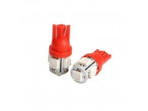 T10 5W led SMD žiarovka červená