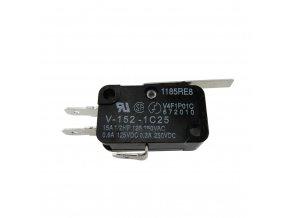 Mikrospínač pre koncový modul posuvných pohonov.