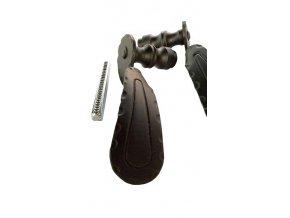 Kľučka kovaná čierna