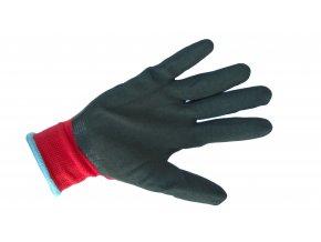 Polyesterové rukavice + latex