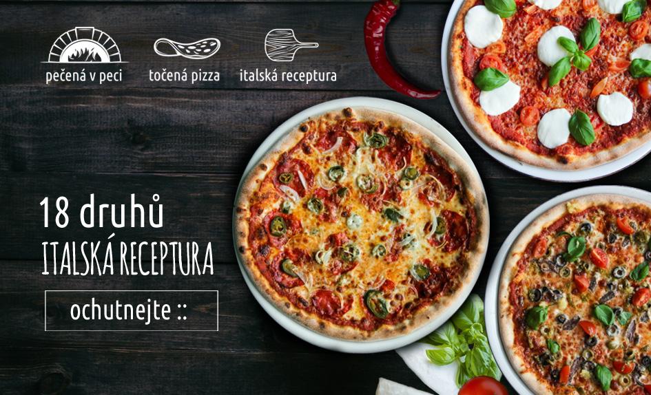 Pizza - tradiční italská receptura